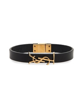 Opyum Ysl Leather Bracelet by Saint Laurent