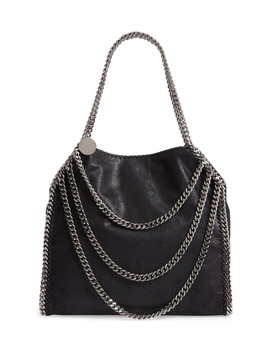 Small Falabella Shaggy Deer Faux Leather Shoulder Bag by Stella Mccartney