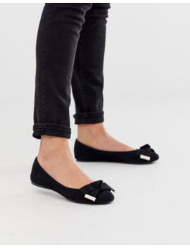 Ted Baker Antheia Bow Detail Ballet Flats by Ted Baker