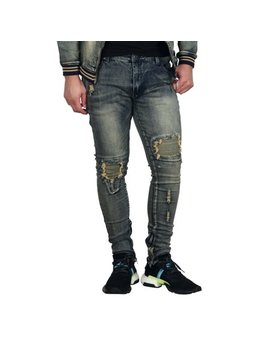 Royal Seven Distressed Skinny Fit Jeans Vintage by Royal Seven
