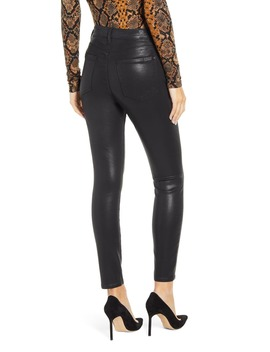 (B)Air Coated High Waist Ankle Skinny Jeans by 7 For All Mankind®