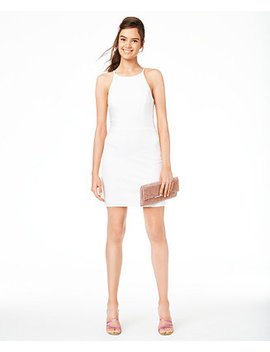 Juniors' Halter Ladder Side Dress, Created For Macy's by General