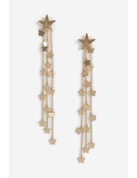 **Star Cascade Drop Earrings by Topshop