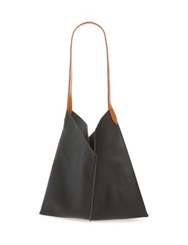 Center Seam Faux Leather Tote by Bp.