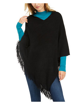 Back To Basics Poncho by General
