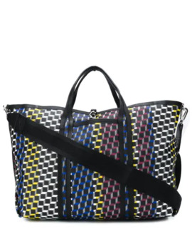 Cube Print Tote by Pierre Hardy