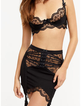 Laurel Garter Skirt by For Love & Lemons