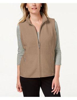 Zip Up Vest, Created For Macy's by General
