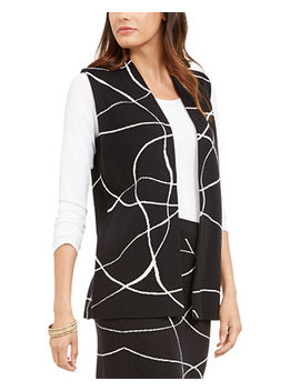 Printed Sweater Vest, Created For Macy's by General
