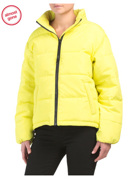 Just Chill Cropped Puffer Jacket by Tj Maxx