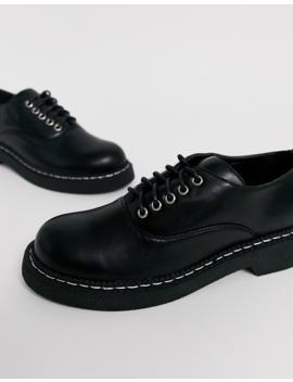 Lamoda Black Oxford Shoes by Lamoda