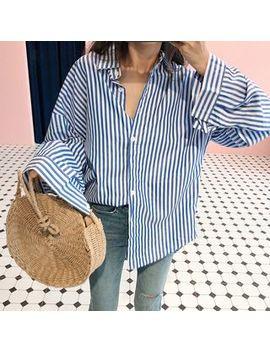 Ogawa   Long Sleeve Striped Shirt by Ogawa