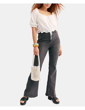 Robin Curvy High Rise Flare Jeans by General