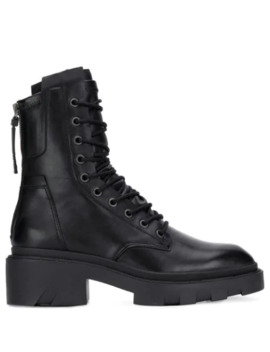 Lace Up Combat Boots by Ash