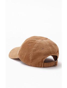 Tommy Jeans Corduroy Sport Strapback Dad Hat by Pacsun