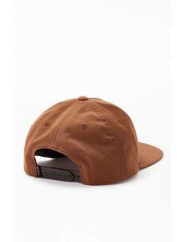 Rvca Script Snapback Hat by Pacsun
