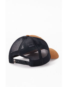 The North Face Brown Mudder Trucker Snapback Hat by Pacsun