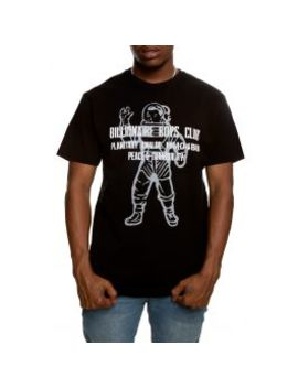Visitor Short Sleeve Tee In White by Billionaire Boys Club