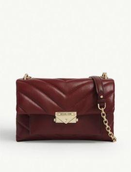 Cece Medium Leather Shoulder Bag by Michael Michael Kors