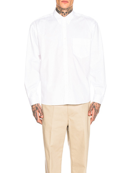 Long Sleeve Simon Shirt by Jacquemus