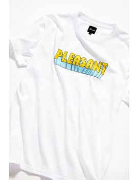 Pleasant Logo Tee by Pleasant
