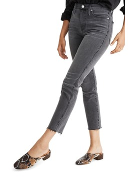 Stovepipe Raw Hem Jeans by Madewell