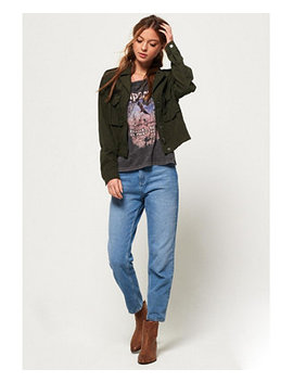 Military Crop Jacket by General