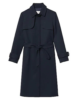 Belted Trench Coat by Sandro