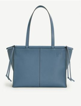 Cushion Leather Tote Bag by Loewe