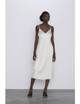 Dress With Elastic Waistband View All Dresses Woman by Zara