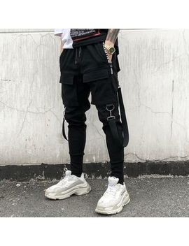 Yikes   Strapped Slim Fit Pants by Yikes