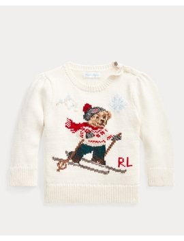 Ski Bear Crewneck Sweater by Ralph Lauren