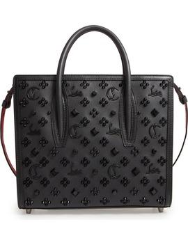 Medium Paloma Studded Leather Satchel by Christian Louboutin