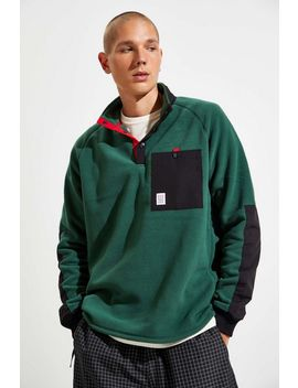 Topo Designs Mountain Fleece Sweatshirt by Topo Designs