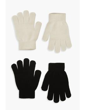 2 Pack Magic Gloves by Boohoo