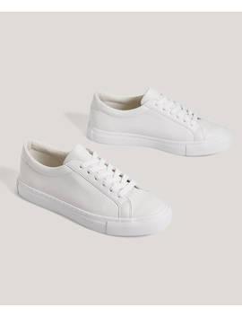 Παπούτσια με κορδόνια by Oysho