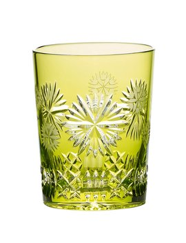 Crystal 2019 Snowflake Wishes Prosperity Prestige Edition Lime Crystal Double Old Fashion by Waterford