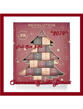 Makeup Revolution Christmas Tree Advent Calendar 2019 Large by Ebay Seller