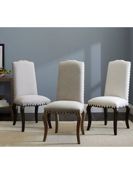 Calais Upholstered Dining Chair by Pottery Barn