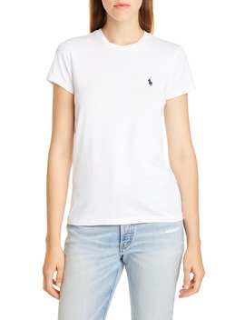 Solid Crewneck Tee by Polo Ralph Lauren
