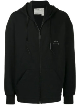Chest Logo Zip Hoodie by A Cold Wall*