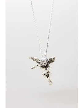 Cherub Necklace by The Silver Stone