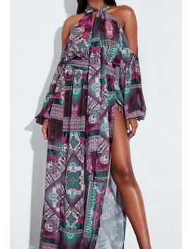 Robe Longue Peace + Love by Missguided