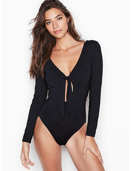 High Leg Keyhole Surf Suit by Seafolly