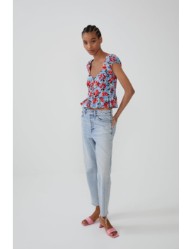 Print Top Topswoman by Zara