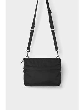 Black Technical Fabric Crossbody Bag View All Bags And Backpacks Man by Zara