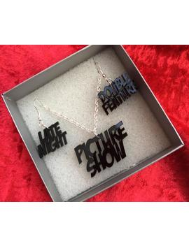 Rocky Horror Inspired Jewellery Set   Late Night, Double Feature, Picture Show by Etsy