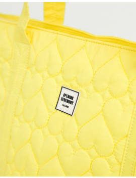 Opening Ceremony Quilted Medium Chinatown Tote by Opening Ceremony