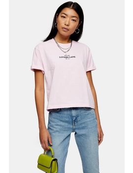 Lovers Lane T Shirt by Topshop