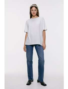 Oversized T Shirt Basics T Shirts Woman by Zara